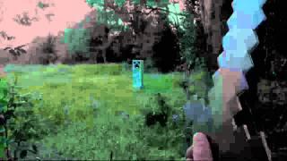 getlinkyoutube.com-Real Life Minecraft - CREEPER (Realistic Minecraft)