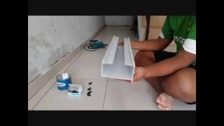 getlinkyoutube.com-Cara Pembuatan Gully Hidroponik Sistem NFT dengan talang air