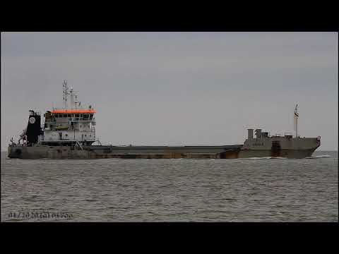 Click to view video LAIGLE - IMO 9303326 - Germany - River Elbe - Otterndorf