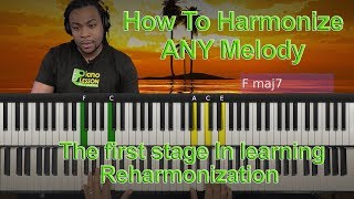 How To Harmonize Any Melody (Previews)