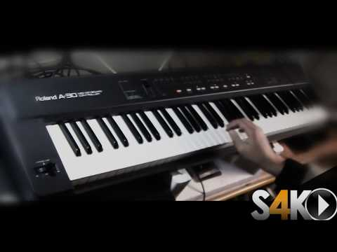 ROLAND A30 + KURZWEIL K2000r V3 performed by S4K ( Space4Keys Keyboard Solo )