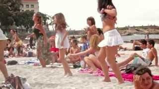 getlinkyoutube.com-ซาวด์ลำซิ่งอาจารย์บาน  on the beach