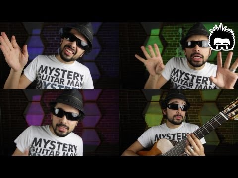MysteryGuitarMan covers Justin Timberlake