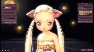 getlinkyoutube.com-[Blade & Soul] Lyn Summoner Character Creation