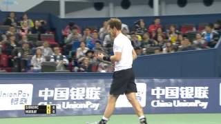getlinkyoutube.com-2015 Shanghai Rolex Masters - Semi-final highlights feat. Djokovic, Murray & Nadal