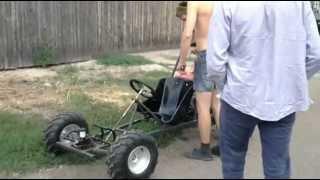 getlinkyoutube.com-Kids go kart (how to build a go kart?)