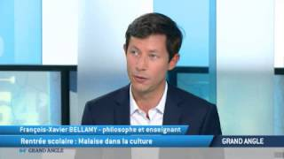 Malaise dans la culture F-X Bellamy