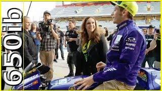 Valentino Rossi & his 2018 M1 @ MotoGP America!