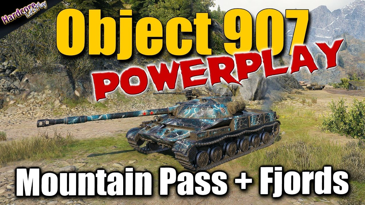WOT  Object 907 Powerplay  best World of Tanks recordings