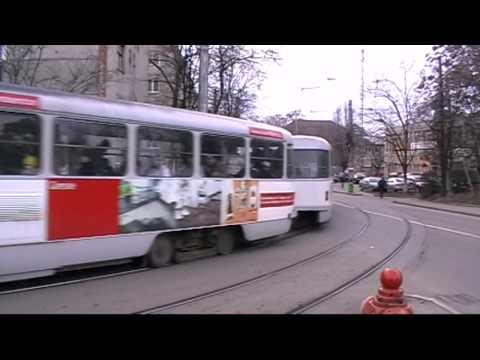 Tramvaie in Oradea 2 - Trams in Oradea 2 (26 02 2010)