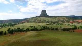 getlinkyoutube.com-HD Drone video of Devils Tower WY