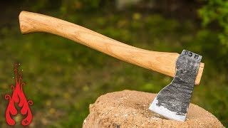 getlinkyoutube.com-Blacksmithing - Forging an axe