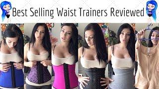 getlinkyoutube.com-Waist Trainer Review - 6 Brands on Amazon - Waist Training, Cinching, Postpartum Wrap, Faja
