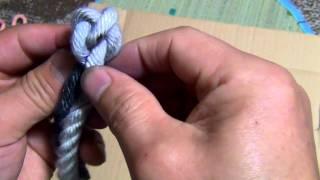 getlinkyoutube.com-ロープの先端をほつれ止め加工する