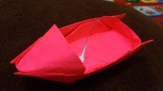 getlinkyoutube.com-Cara Membuat Origami Perahu Motor keren | Origami Perahu