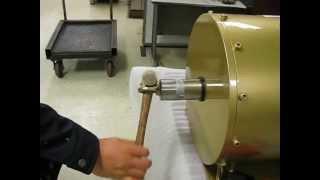 getlinkyoutube.com-Low RPM generator/alternator(30kw/300rpm)(Low start -up torque, no cogging, RFPM)