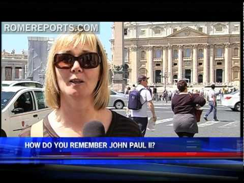 How do you remember John Paul II?