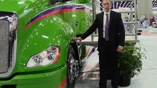 getlinkyoutube.com-Kenworth's most fuel-efficient truck: the T680 Advantage