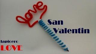 getlinkyoutube.com-LAPICEROS Y PLUMAS DECORADOS LOVE (REGALO SAN VALENTIN)