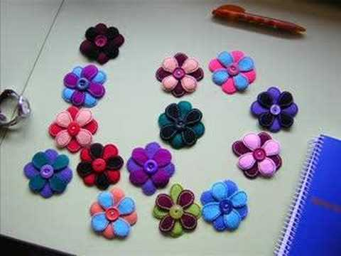 Videos Related To '...flores De Fieltro...'