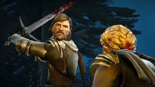 getlinkyoutube.com-Rodrik Kills Ludd Whitehill (Game of Thrones | Telltale | Episode 6 Death)
