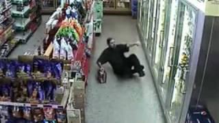 Drunk shopper