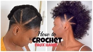 getlinkyoutube.com-How TO Crochet FAUX HAWK with OverTheTopHairCollection