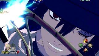 getlinkyoutube.com-Naruto Ultimate Ninja Storm 4 - The Last Sasuke Moveset Awakening & Ultimate Jutsu