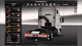 getlinkyoutube.com-[ETS2 1.18.1.3] Freightliner Argosy Cat 8×4 + DOWNLOAD part 1