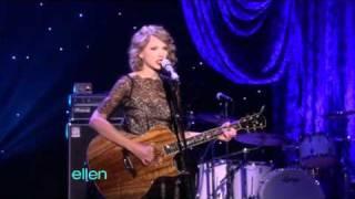 getlinkyoutube.com-Taylor Swift- Mine - Ellen Degeneres Show (11/01/10)