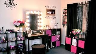 getlinkyoutube.com-Vanity Tour/ Makeup Collection 2012!