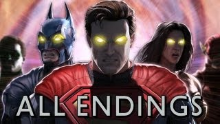 getlinkyoutube.com-Injustice: Gods Among Us - All Character Endings TRUE-HD QUALITY