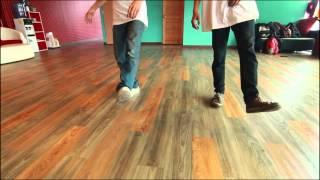 สอนเต้น B boy ท่าพื้นฐาน Indain step บีบีอย โดย ครูฟลุ๊ค S-popping Dance Ep.4