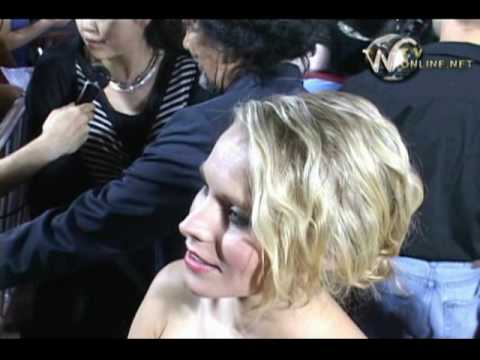 Kristen Bell at the premiere of Astro Boy