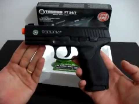 Pistola mola airsoft Taurus PT-24/7 6mm