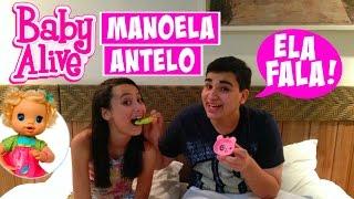 Minha Baby Alive Manoela Antelo