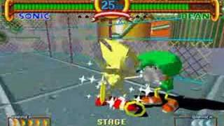 getlinkyoutube.com-Sonic the Fighters: Super Sonic playthrough