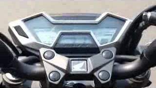 getlinkyoutube.com-Honda New CB 150 R Test Speed