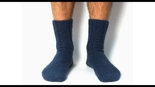 getlinkyoutube.com-Learn to Knit Toe-Up Magic Loop Socks