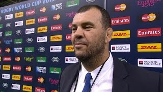 Michael Cheika: Win exactly what we needed |Rugby World Cup