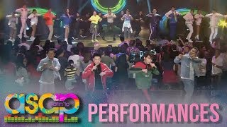 ASAP: Inigo performs his all time hit song 'Dahil Sa'Yo' with the viral Zumba dancers width=