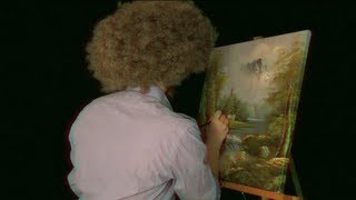 getlinkyoutube.com-Time Travel Tuesday: Bob Ross - ASMR - Soft Spoken, Engraving, Tapping, Whispering
