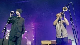 twenty one pilots: Fall Away ft. Dr. Blum of MisterWives (LIVE) width=