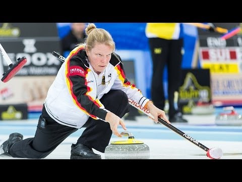 CURLING: GER-CHN Olympic Qual 2013 - Women Draw 1