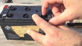 getlinkyoutube.com-Sealed Lead Acid Battery Recovery