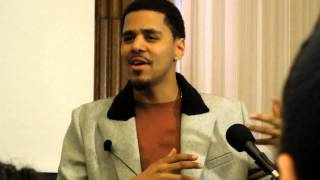 J Cole Talks His Start & Having A Plan B