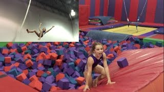 Sometimes Ya Need a Little Gym Fun...Then You Lose a Tooth | Flippin' Katie