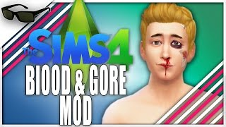 The Sims 4 Funny Moments | BLOOD & GORE MOD | The Sims 4 Gameplay