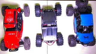 getlinkyoutube.com-RC ADVENTURES - Capo ACE-1, BLACK WiDOW Wraith, Axial BOMBER - Size Comparison - RC Trucks