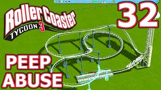 getlinkyoutube.com-Peep Abuse (RollerCoaster Tycoon 3) - Part 32 - ATTEMPTING A NEW COASTER